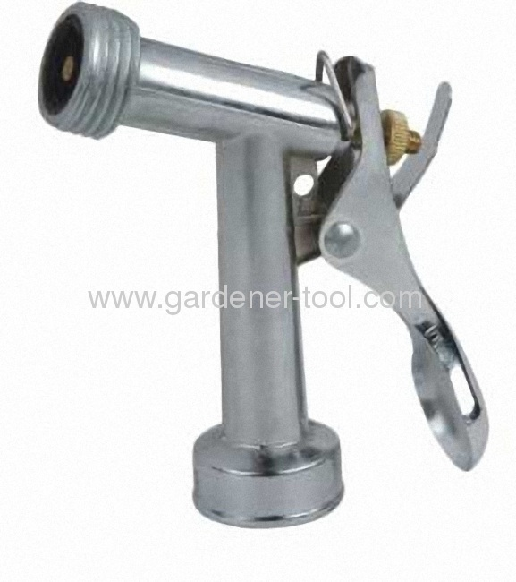 Zinc 4.5Garden Trigger Nozzle With Male Screw At The Nozzle