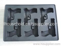 novelty ice cube tray gun shape