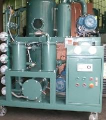 Vacuum Transformer Oil Treatment Oil Filter Oil Purifier Plant