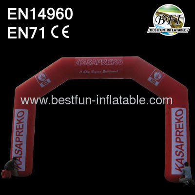 Racing Finish Inflatable Arch