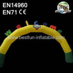 Hot Welcome Inflatable Arches