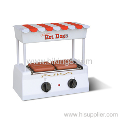 Old - Fashioned commercial hot dog maker hot dog machine