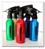 300ml Aluminum container Brushed Aluminum bottle shampoo conditioner hair serum body wash