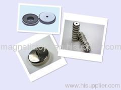 ferrite pot magnet/ceramic pot magnet