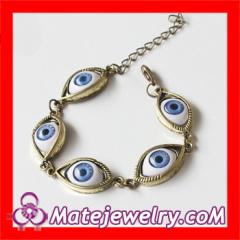 Punk Style Evil Eye Bracelet