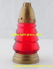 Grave Candle, Funeral Supplies, Cemetery Light, Memorial Lamp