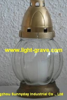 glass grave light,glass cemetery Light,Glass grave candles
