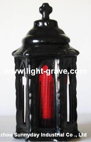 Cemetery vase,Ceramic grave lamps,Ceramic grave light