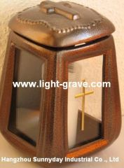 Cemetery vase,Ceramic grave lamps,Ceramic grave light