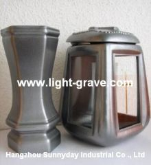 Graveyard Candle ,grave lights,cemetery light,grave memorial cemetery lights