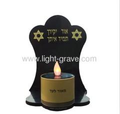 Solar grave light;Solar cemetery Light,Solar Memorial Candle,Solar christian light
