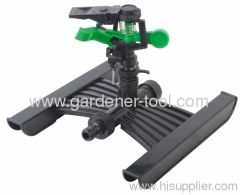 plastic garden sprinkler H base