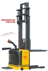 Double Pallet Lifting Electric Stacker