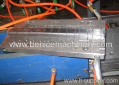 pvc wire trunking extrusion line