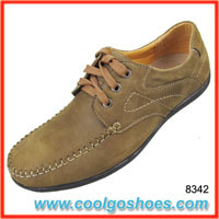luxurious leather mens casual shoes wholesale in guangzhou