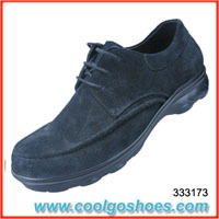 wholesale top grade mens leather casual shoes