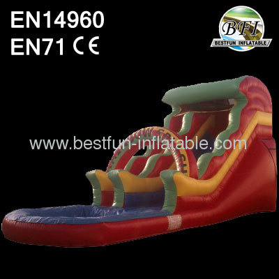 Commercial Wave Water Slide
