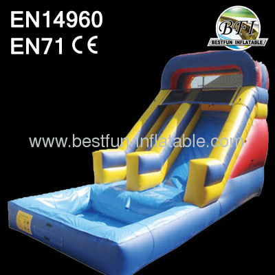 Inflatable Wet Splash Slide