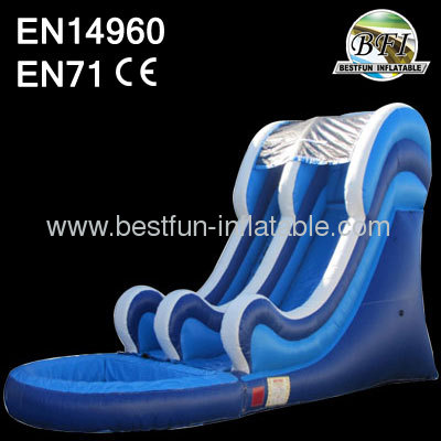 2014 Blue Wave Inflatable Slide