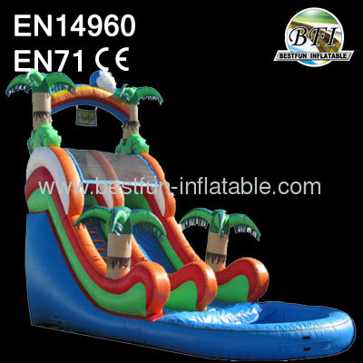 Palm Tree Inflatable Slide