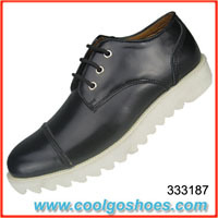 luxurious leather men casual shoes wholesale made in China