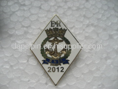 Steel Brass Hard Enamel Badge Lapel Pin