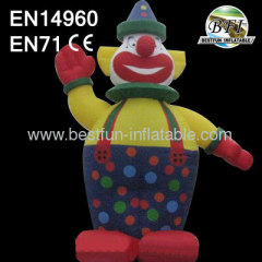 Giant Inflatable Clown Cartoon