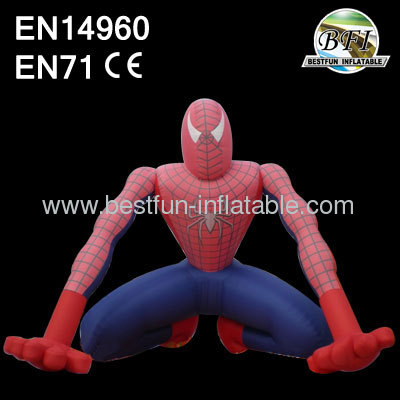 Inflatable Spiderman Model Sign