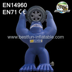 Pvc Giant Inflatables Bear Model