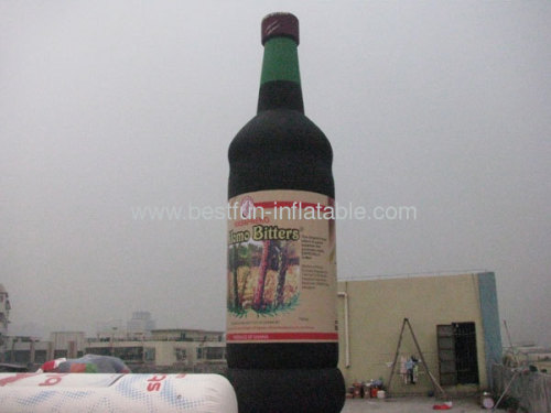 Inflatable Advertising Model With Bottle Shape