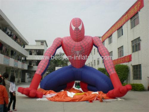 Inflatable Cartoon Spiderman Model