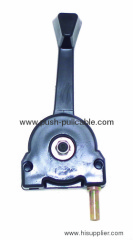Excavator throttle control handle