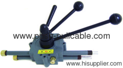 concrete mixer truck control handle