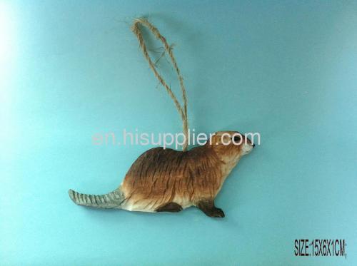 handmade wooden carved animal