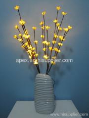 Plum blossom flower LED light