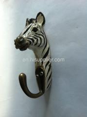 handcarving basswood zebra hook