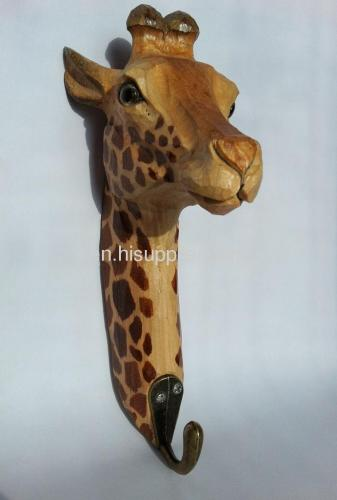 big giraffe handmade hook