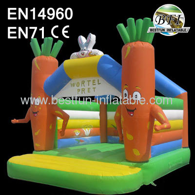 Cheap Carota Bounce Houses