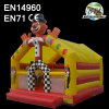 PVC Inflatable Clown Bounce House