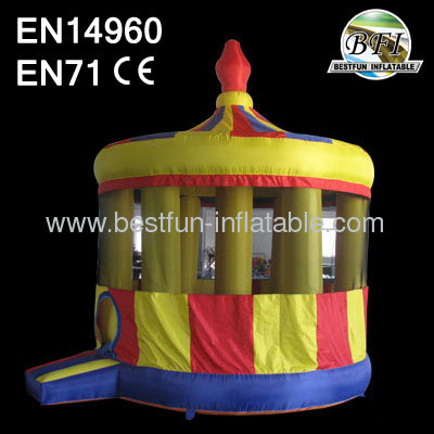 Inflatable Carousel Bouncer House