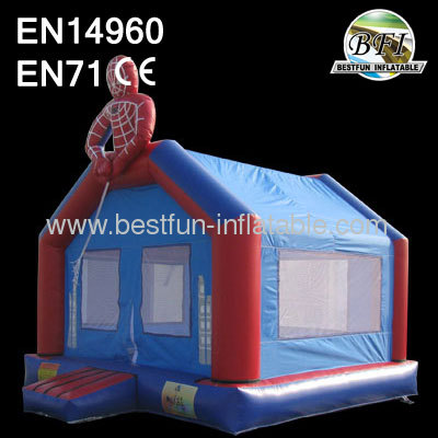 Inflatable Bouncer Spiderman House