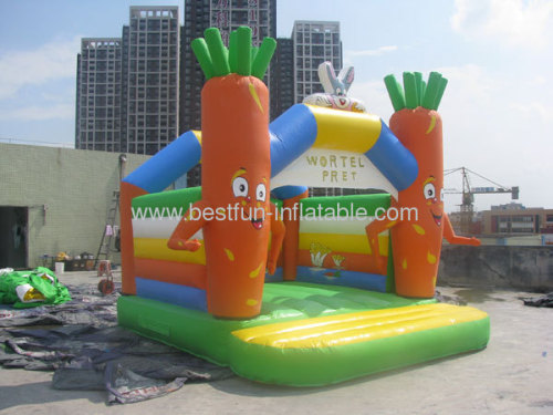 Cheap Inflatable Carota Bouncers For Sale