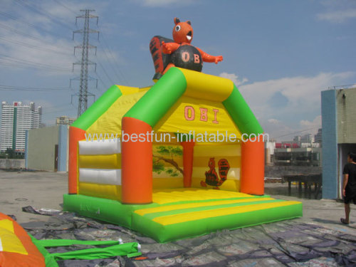 PVC Inflatable Squirrel Bouncer