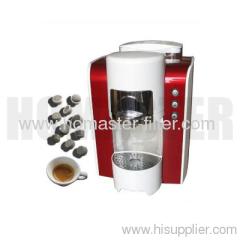 Automatic espresso machine for capsule