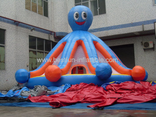Inflatable Octopus Bounce House