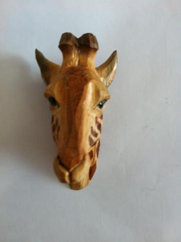 wooden carving handarts magnet