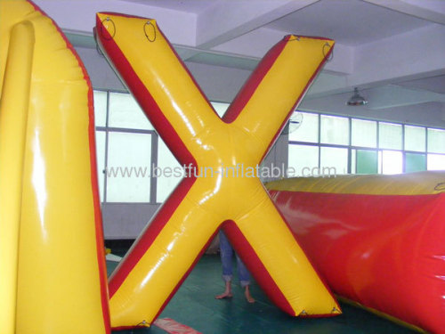 Big X Paintball Bunkers Inflatable