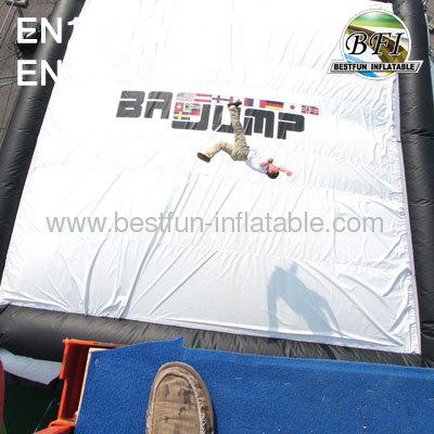 Air Bag Bmx Jumping