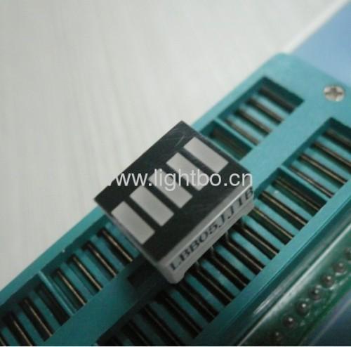 12.7x10.1mm barra de luz Super brillante LED verde de 5 segmentos