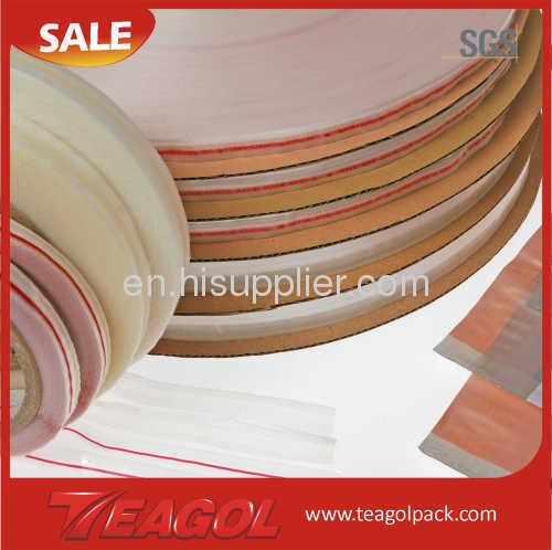 HDPE bag sealing tapes